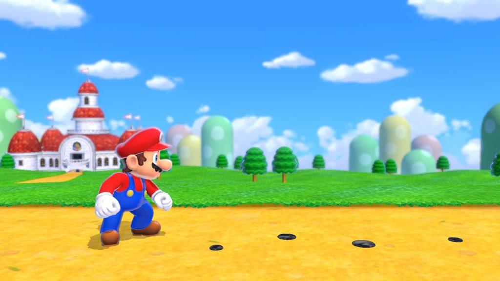 Mario investiga en la Review de Mario 3D World+Bowser's Fury