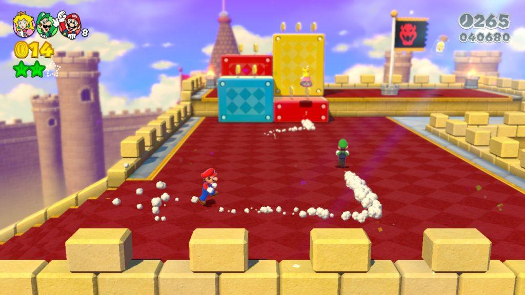 El multijugador es una auténtica locura, como te contamos en la Review de Mario 3D World+Bowser's Fury