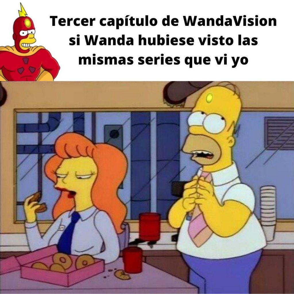 WandaVision Los Simpson