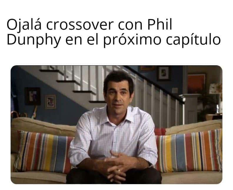 Memes WandaVision. Peli o Manta. Phil Dunphy podría haber salido en este WandaVisión 7 y no me habría parecido raro