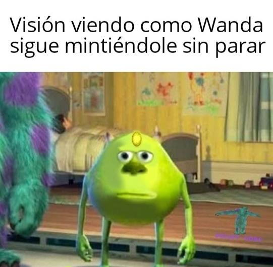 Peli o manta. Análisis WandaVision. meme 76