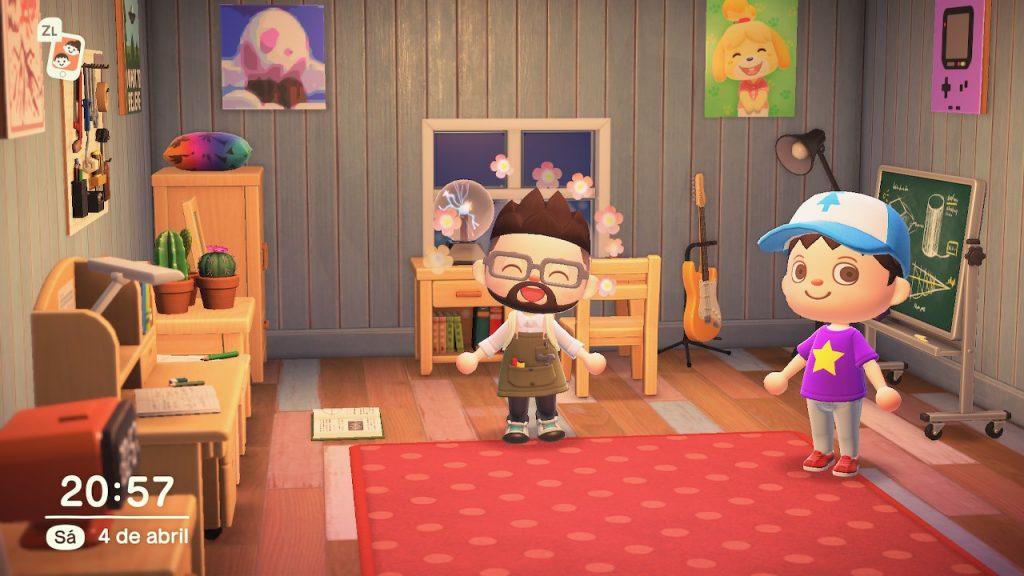 En un Año de Animal Crossing hay tiempo para visitar a los amigos