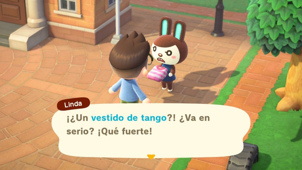 Durante Un Año de Animal Crossing he tenido muchos diálogos divertidos, en especial con Linda