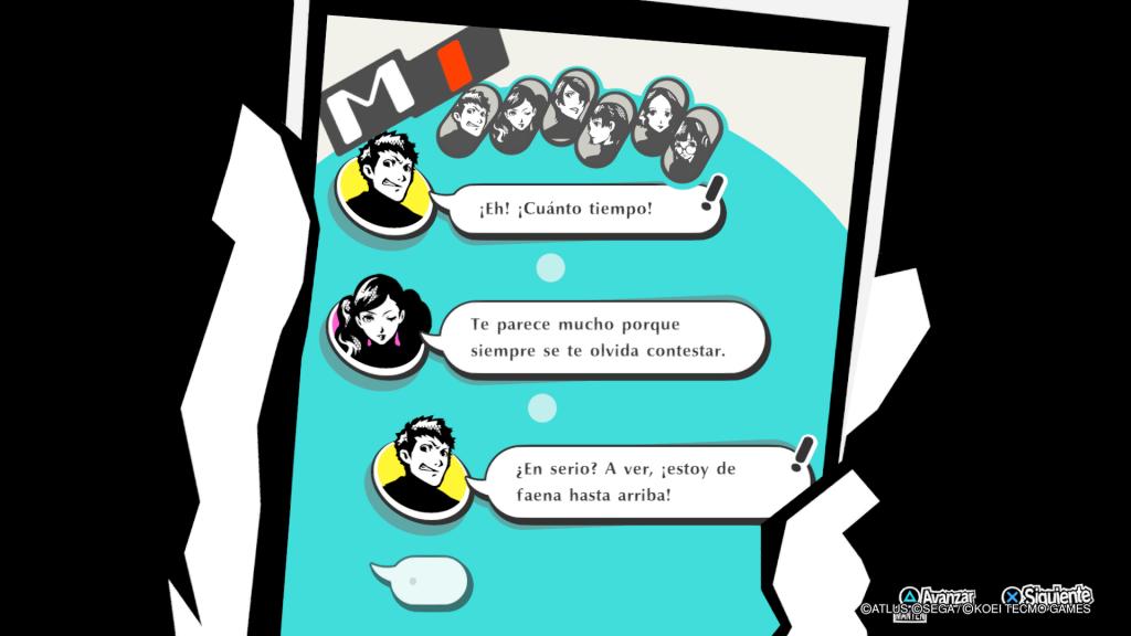 Estar en contacto con nuestros compañeros es fundamental. Te lo explicamos en nuestra Review de Persona 5 Strikers