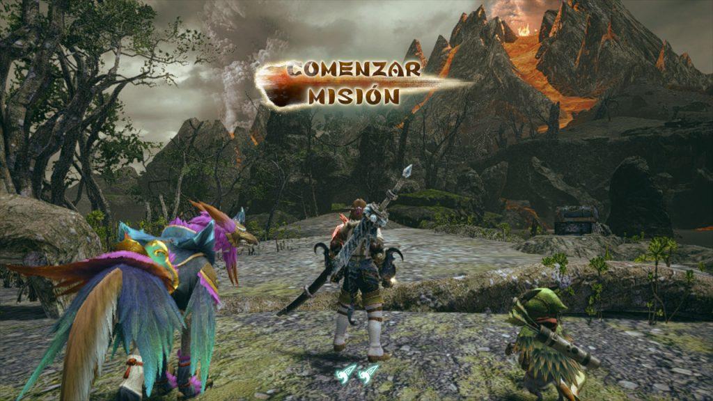 Nuestro aguerrido cazador comienza una misión en nuestra Review de Monster Hunter Rise