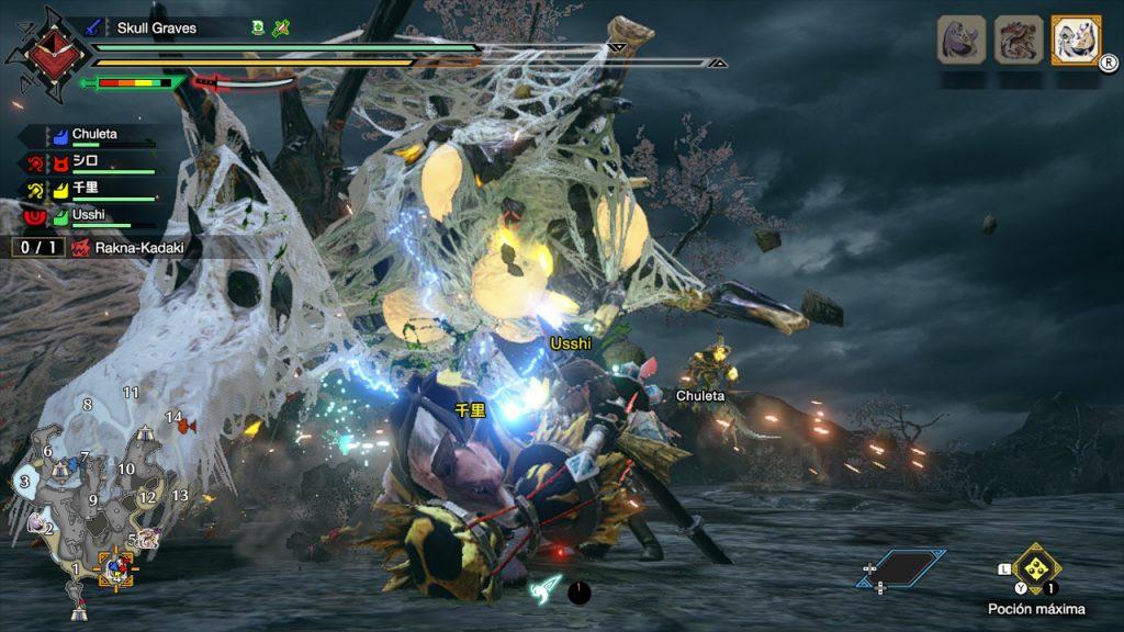 El Rakna Kadaki es una terrible amenaza que hemos tumbado en nuestra Review de Monster Hunter Rise